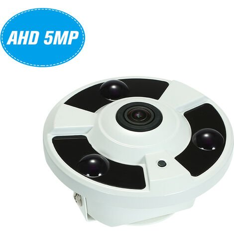 5Mp (1080P / 1440P / 1520P) Ahd Cvi Ir Camera Tvi Cvbs Cctv 1.7Mm Fisheye 180 ¡ã Panoramique Vr Cam Avec Ir-Cut De Vision Nocturne De Ir Array Home Security Surveillance Leds Pal