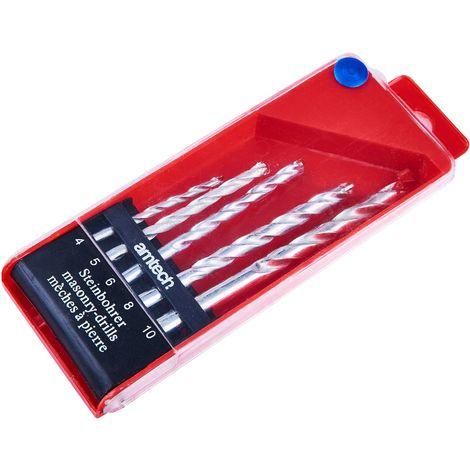5pc Masonry Drill Bit Set