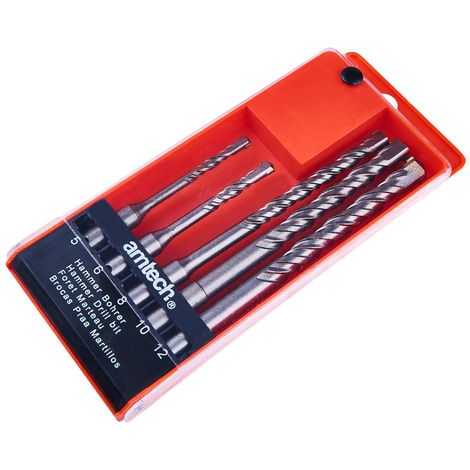 5pc SDS Drill Bit Set