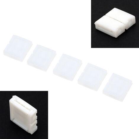 5pcs 2PIN Conectores PCB de la tarjeta de conexion Para 5050 5630 5730 tira llevada solo color Luz