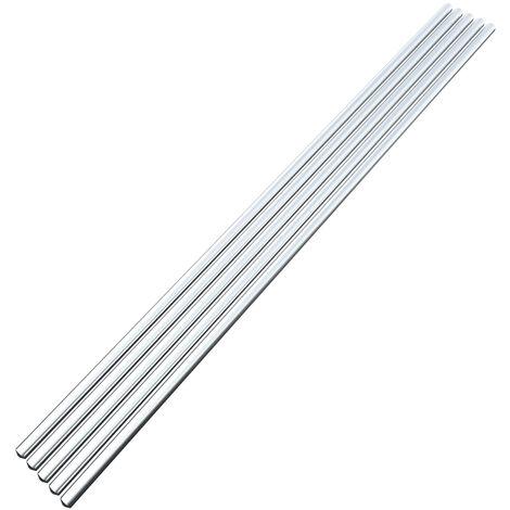 5Pcs Basse Temperature En Aluminium Fil De Soudure Fourre 2.0Mm * 230Mm Al-Mg A Souder Rod Pas Besoin De Soudure En Poudre