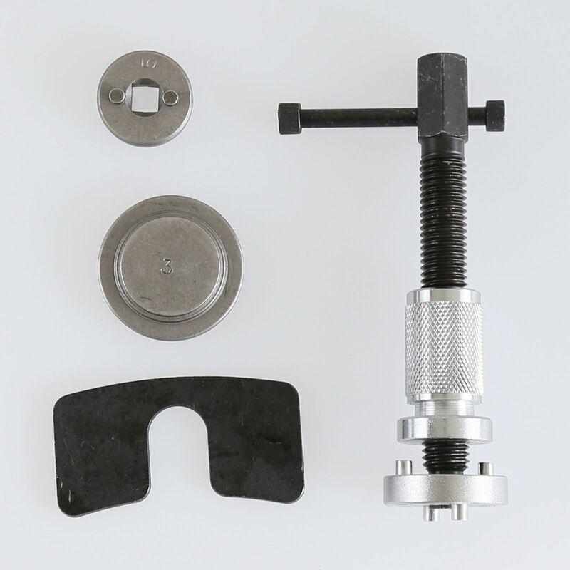 Jeobest - 5pcs Kit outils repousse piston étrier de frein - Argent-noir