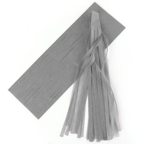 5pcs papier de soie glands guirlandes bunting salle de bal fête de mariage décoration de la maison (champagne)