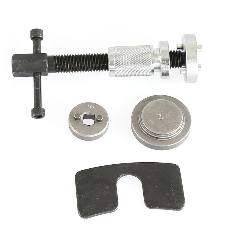 5PCS Réinitialisation Frein Repousse Piston Kit cylindres Réglage / Main Droite - Noir-argent