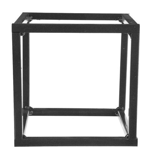 5PCS Square Wedding Arch Iron Column Flower Rack Geometric Cube Stand