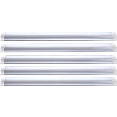5pcs T8 12W LED Tubo de luz Fixtur 1.6FT Tienda Luz de techo Luz