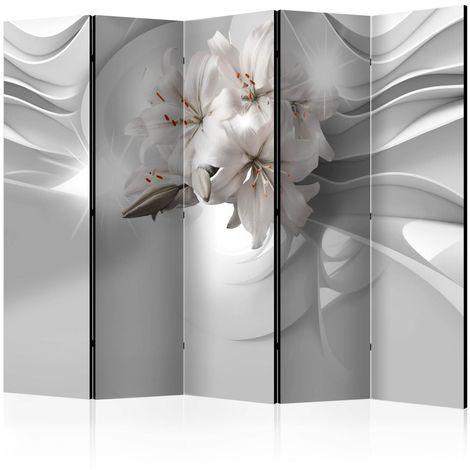5teiliges Paravent Lilies in the Tun cm 225x172 Artgeist A1-PARAVENTtc1723