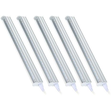 5W T5 LED crecimiento del tubo 5pcs planta para las plantas est¨¢ndar de EE.UU.