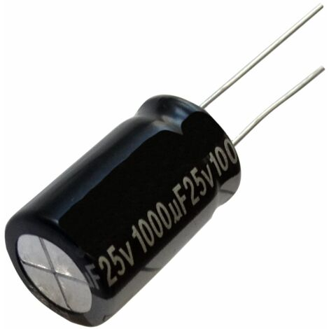 5x Condensateur chimique LOW ESR 220µF ±20/% 35V THT 105°C 2000h Ø8x15mm radial