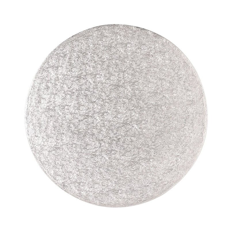 Image of 5x Sugarcraft Cake Decorating Drum Board Strong Round 14 Inch 13mm Thick - Culpitt
