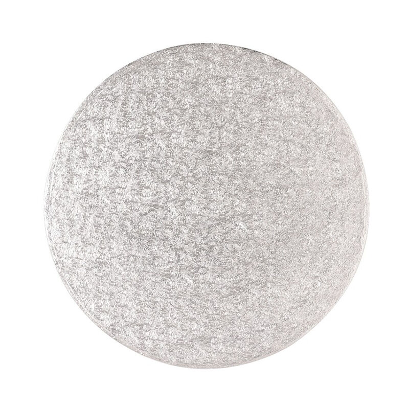 Image of 5x Sugarcraft Cake Decorating Drum Boards Strong Round 8 Inch 13mm Thick - Culpitt