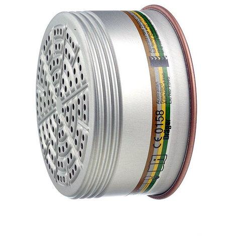 5x Dräger Kombinationsfilter 990 A1B1E1K1 P2 R D Kombifilter