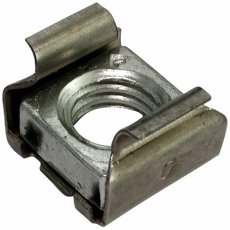 """main image of """"5x écrou cage M10 L16mm H12mm pour tôle 1.8-3.2mm"""""""