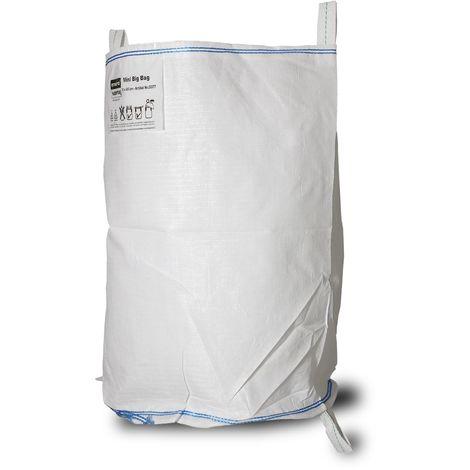 5x Gartenabfallsack und Mini-Big-Bag 200L Volumen mit 2 Handschlaufen und Entleerungsschlaufen