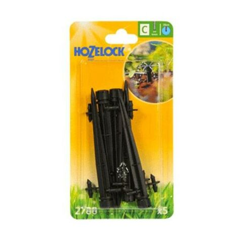 5x Hozelock 2788 End Line Adjustable Mini Water Sprinkler Stake Micro Irrigation