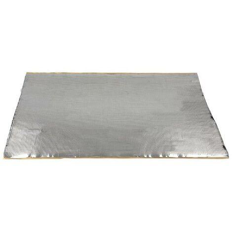 5x Plaques isolation phonique aluminium 460x800x 1.8mm