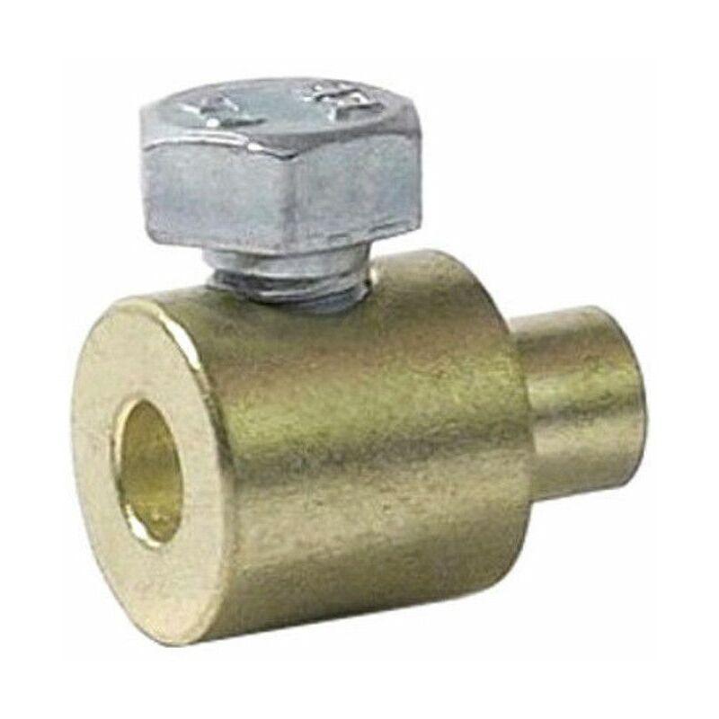 5x Serre câble cable 6 x 10 mm vis latérale usage universel fixation serrage arrêt butée