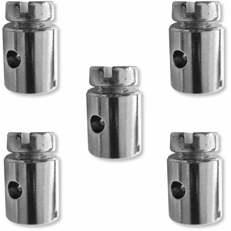 5x Serre câble cable 8 x 9 mm usage universel fixation serrage arrêt butée