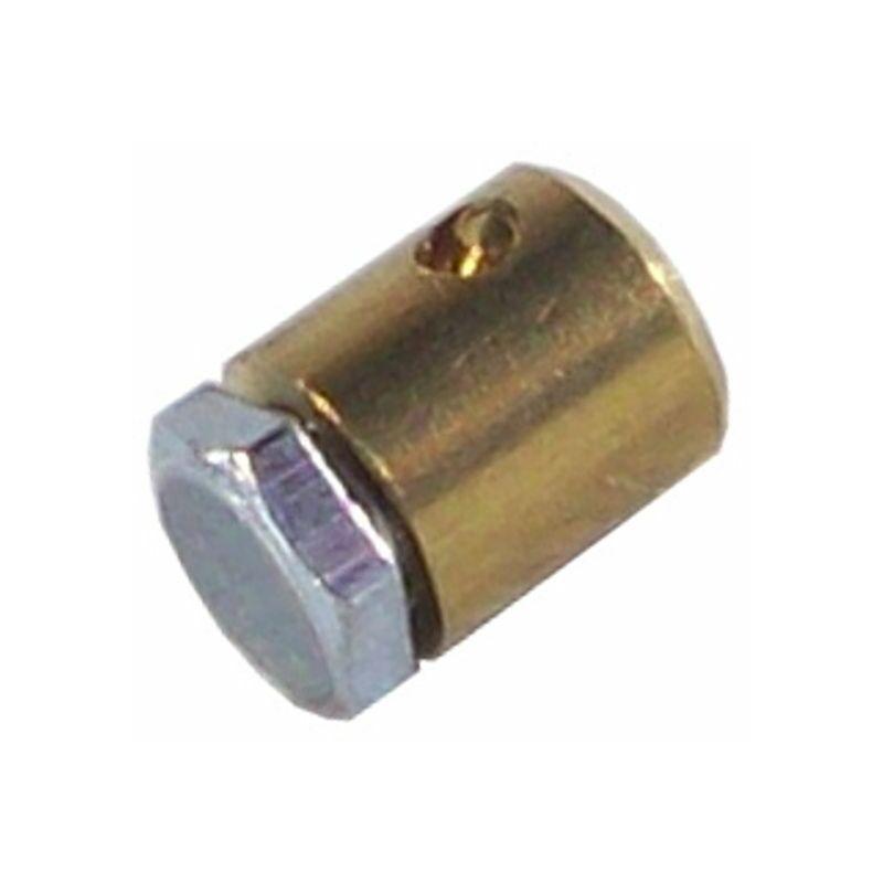 5x Serre câble cable 5.5 x 6 mm usage universel fixation serrage arrêt butée vis hexagonale