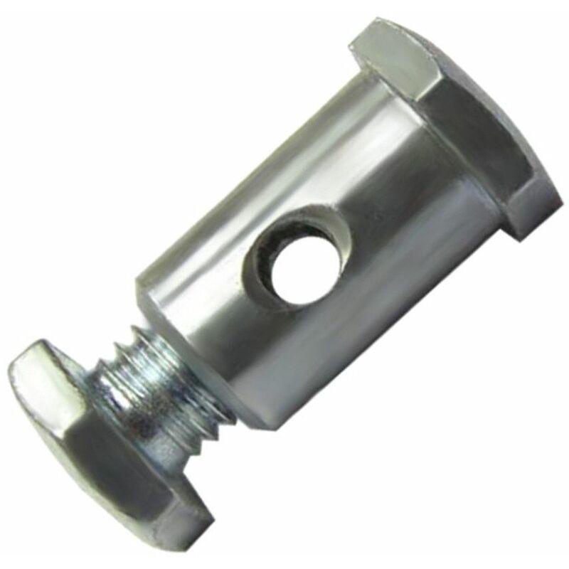 5x Serre câble cable 6.8 x 13.5 mm usage universel fixation serrage arrêt butée double tête