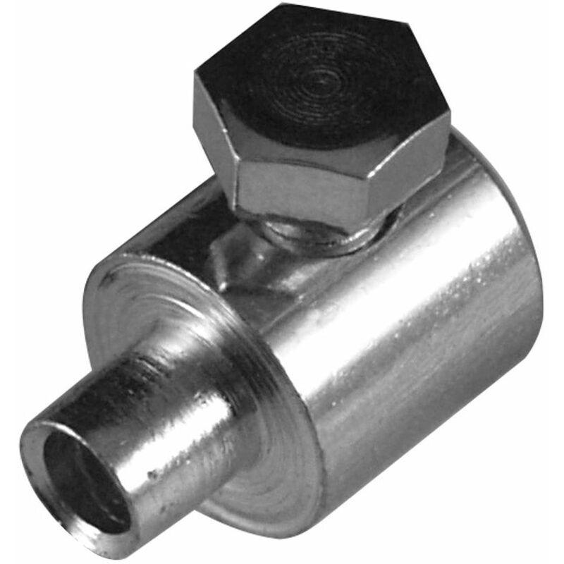5x Serre câble cable 7 x 11 mm vis latérale usage universel fixation serrage arrêt butée