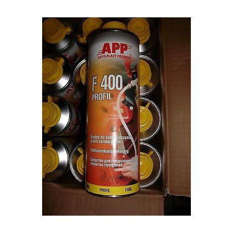6 cartouches de corps creux pour la carrosserie peinture auto APP