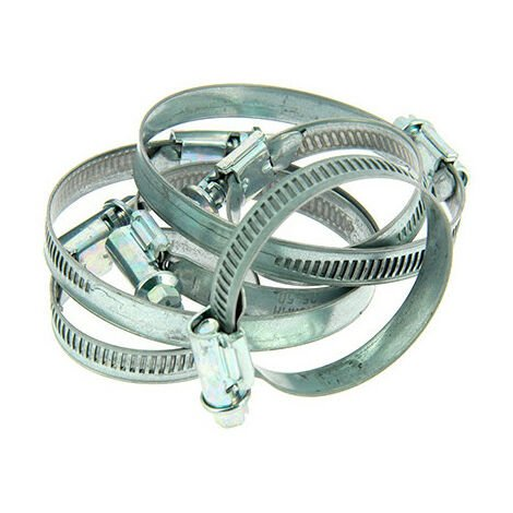 6 colliers de serrage métallique type Serflex D. 25 à 70 mm - XL Tech