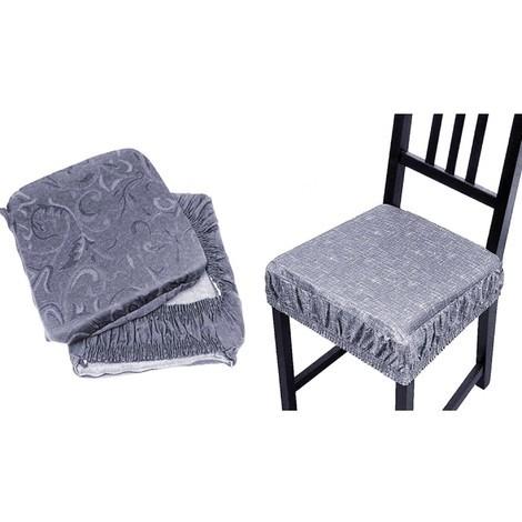 Coprisedia Per Sedie Plastica.6 Coprisedia Cuscini Con Fascia Elastico Cuscino Per Sedie Imbottito Sfoderabile