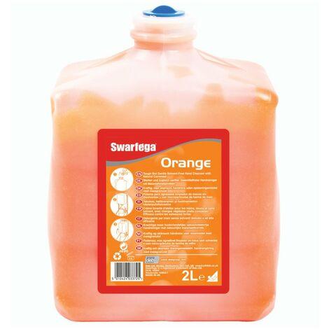 6 creme nettoyante swarfega orange sans solvant - cartouche de2 l