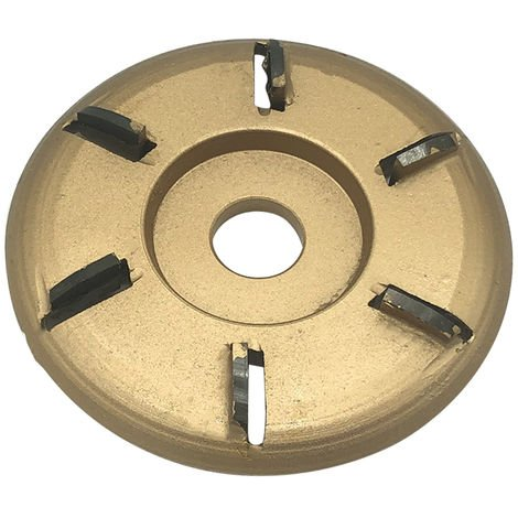 6-Dientes de alimentacion de talla de madera del disco, por 16 mm de abertura amoladora angular Oro Arco