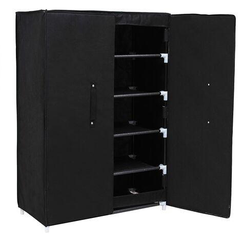 6 estantes Organizador de zapatos Zapatero de tela 61 x 28 x 89cm RXA16H