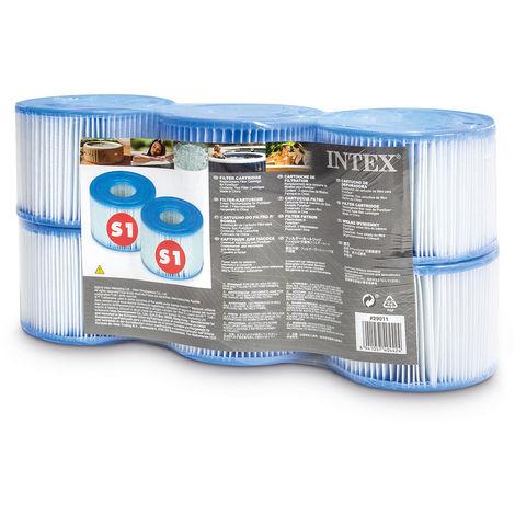 6 filtres pour spa gonflable - Intex