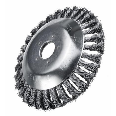 6 Inch Wheel Brush Cutter Mower Head for Electric Lawn