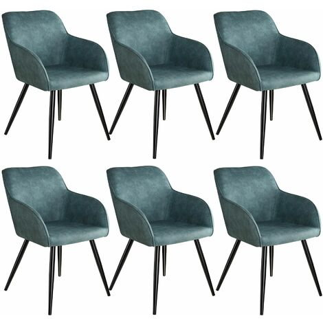 6 Marilyn Fabric Chairs