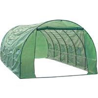 6 Metre Polytunnel Greenhouse