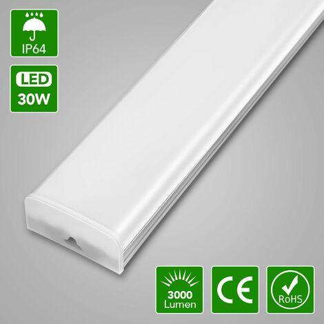 6 PCS LED Garage allume des lumières de bureau pour l'atelier de voiture LLDUK-ZD0003501X6