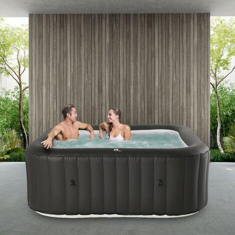 6 Personen Whirlpool aufblasbar MSPA VITO Outdoor Garten Massage Pool Außen 2021