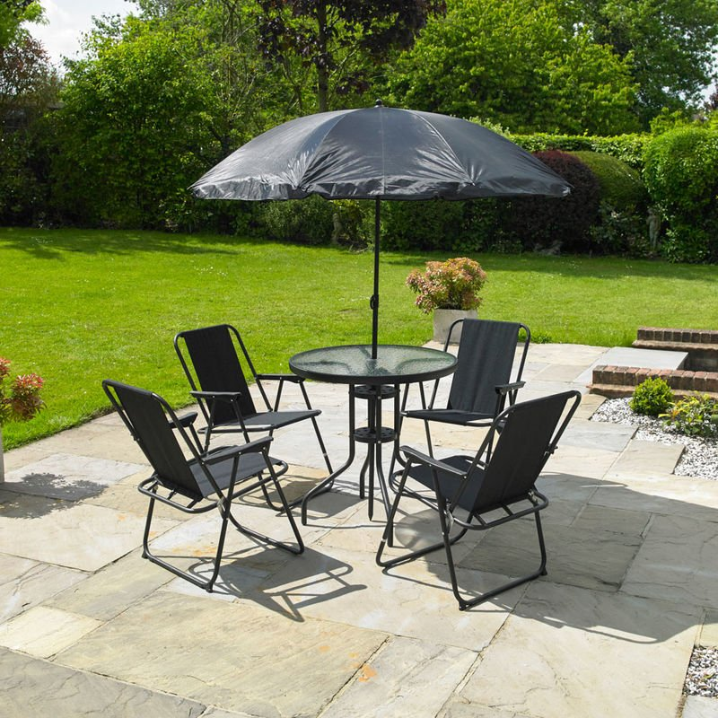 6 Piece Garden Patio Furniture Set Fspromo