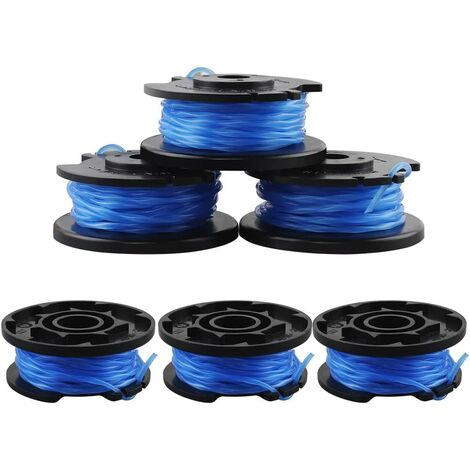 6 Pièces Bobines de Rechange pour Câble d'alimentation Automatique One + AC14RL3A-18V 24V 40V Ryobi Bobines de Fil pour Coupe-Bordure