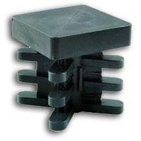 6 pz gommino interno in plastica quadro 20x20 20 mm puntale alettato tappo