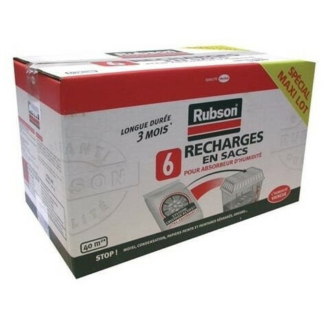 6 recharges absorbeur classic