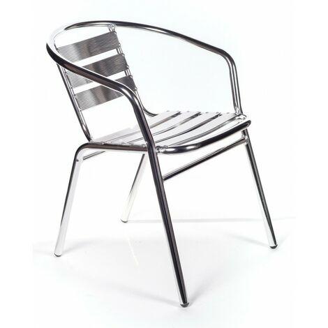 Sedie Alluminio Impilabili.6 Sedie Alluminio Impilabili Per Bar