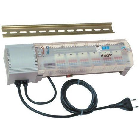6 sorties pour chauffage eau chaude KNX (TX206H)
