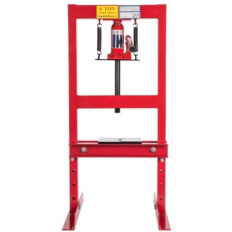 6 Ton Heavy Duty Hydraulic Workshop Garage Shop Standing Press 6000 kg