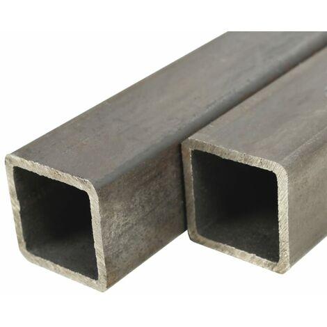 6 Tubos acero estructural cuadrados sección caja 2m 30x30x2mm