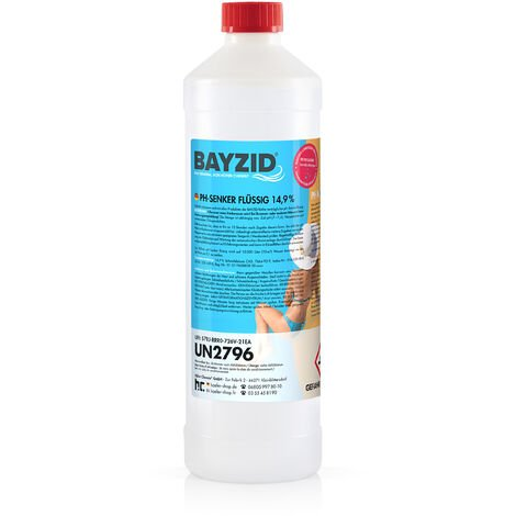 6 x 1 kg Bayzid pH moins liquide 14,9%