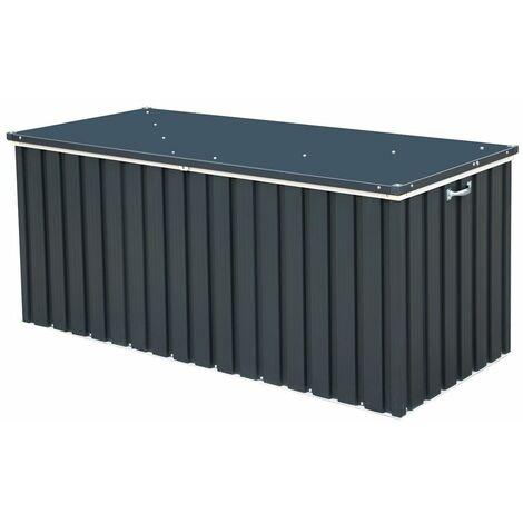 6 x 2 Value Metal Storage Box - Anthracite Grey (1.73m x 0.73m)