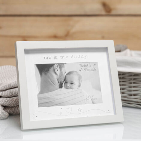"6"" x 4"" - Twinkle Twinkle Me & My Daddy Photo Frame"