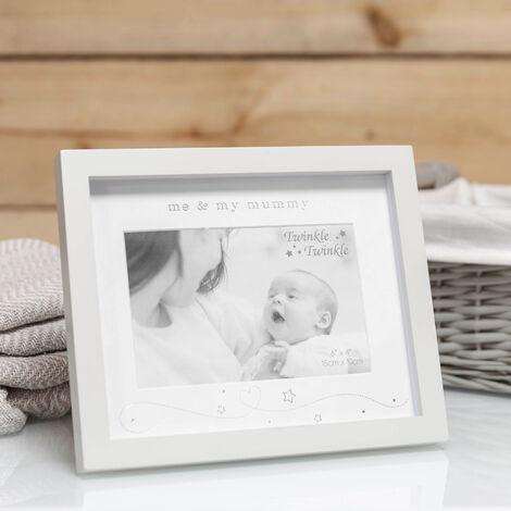 """6"""" x 4"""" - Twinkle Twinkle Me & My Mummy Photo Frame"""