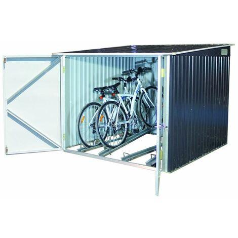 6 x 6 Value Bike Store Anthracite Grey (2.03m x 2.02m)